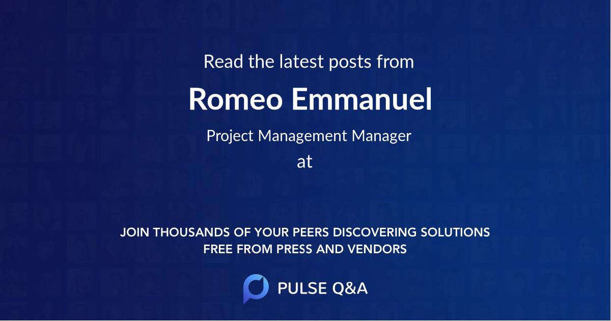 Romeo Emmanuel