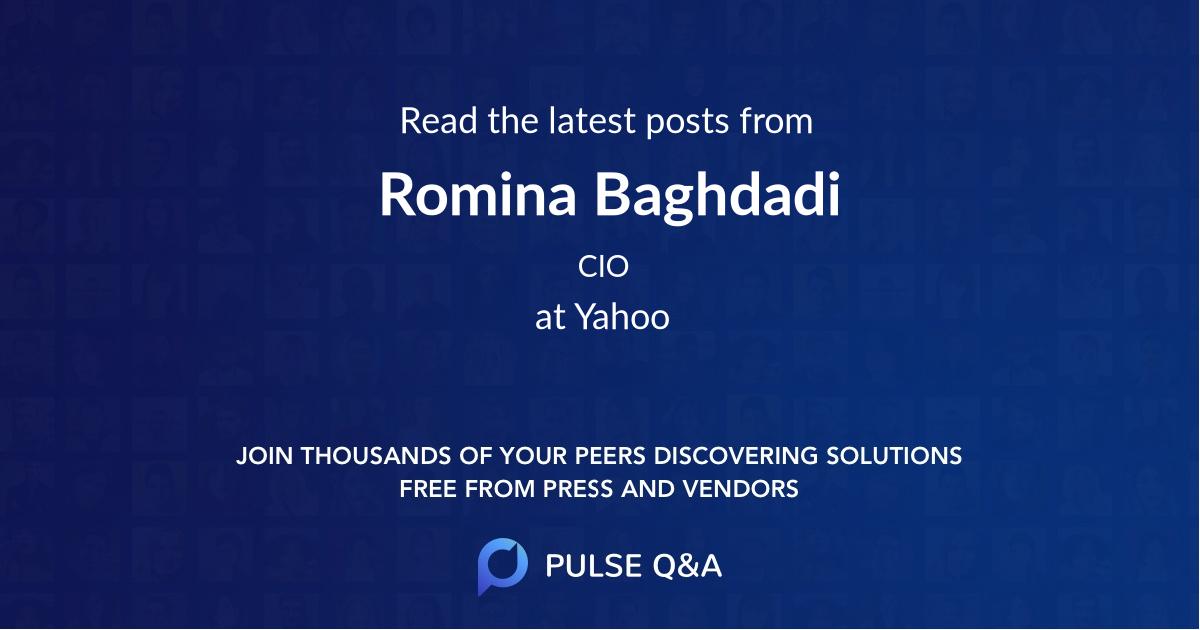 Romina Baghdadi