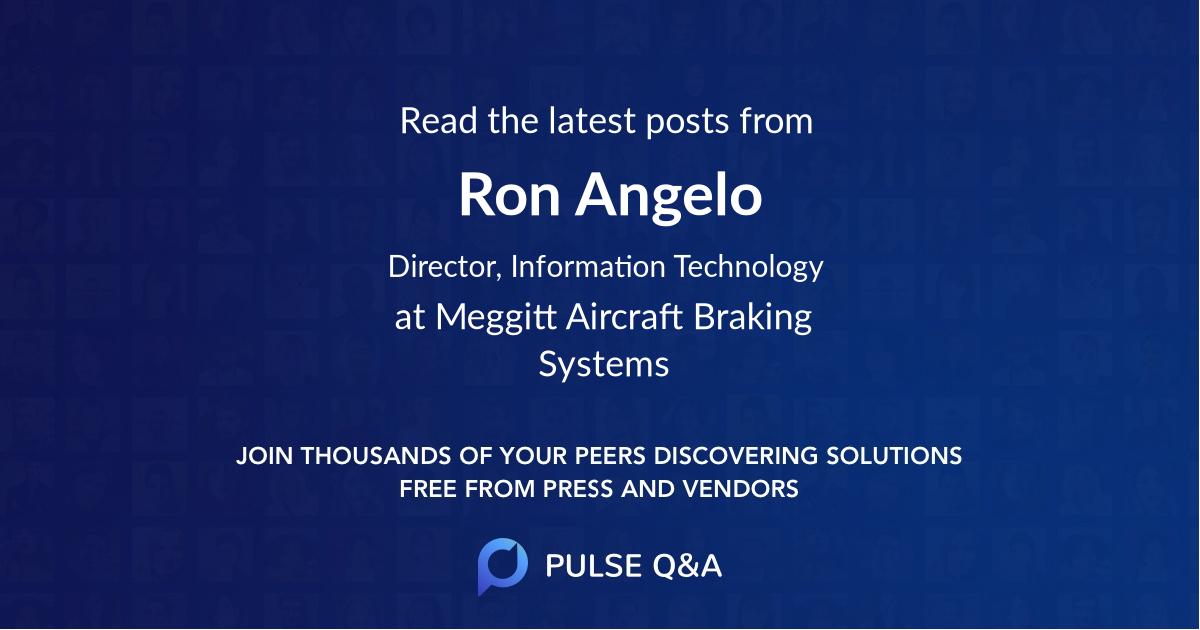 Ron Angelo