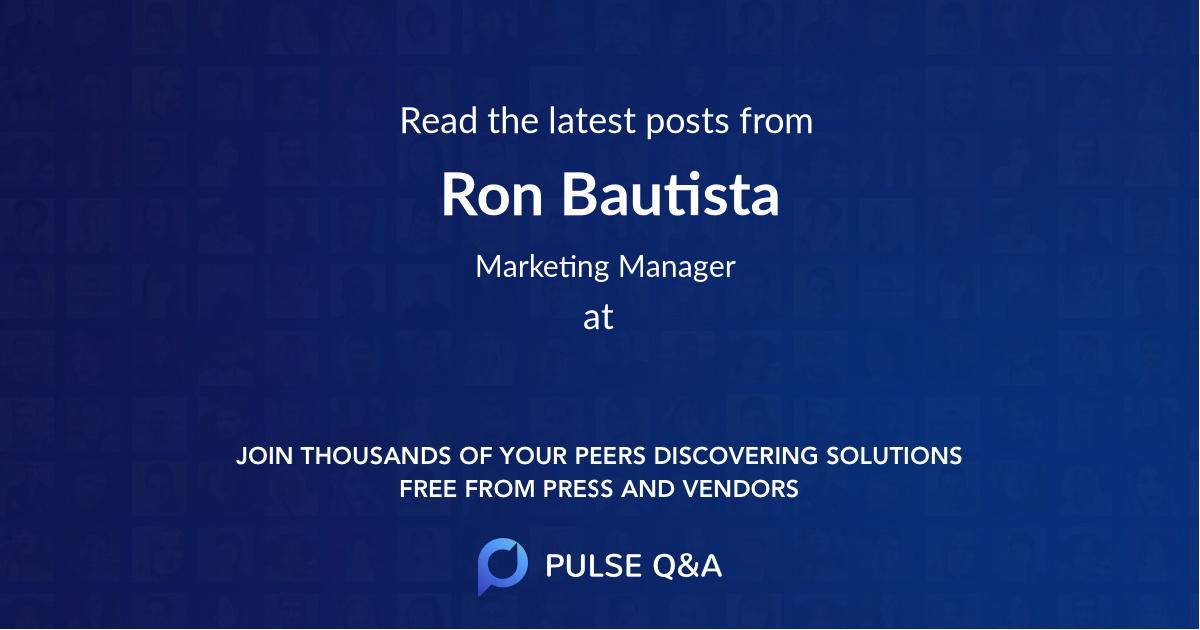 Ron Bautista