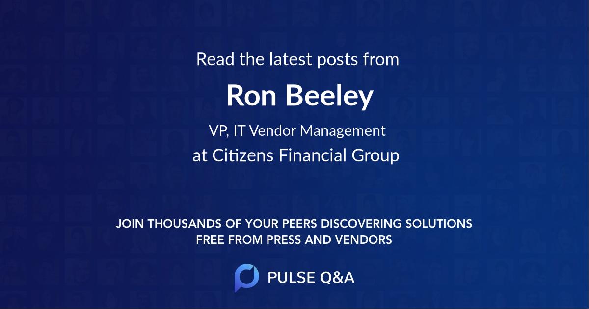 Ron Beeley