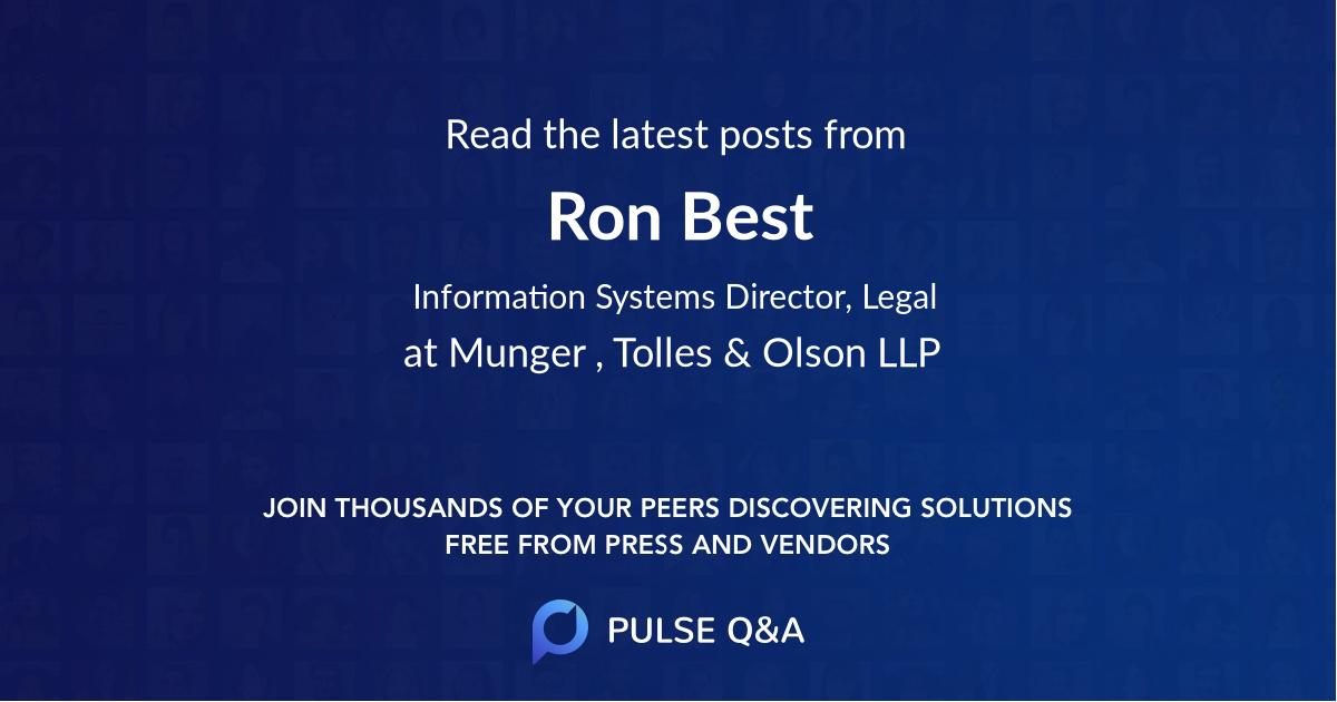 Ron Best