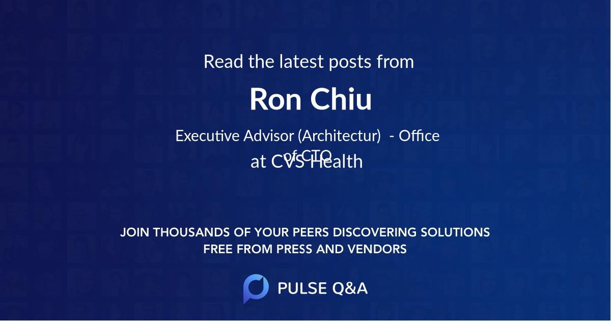 Ron Chiu
