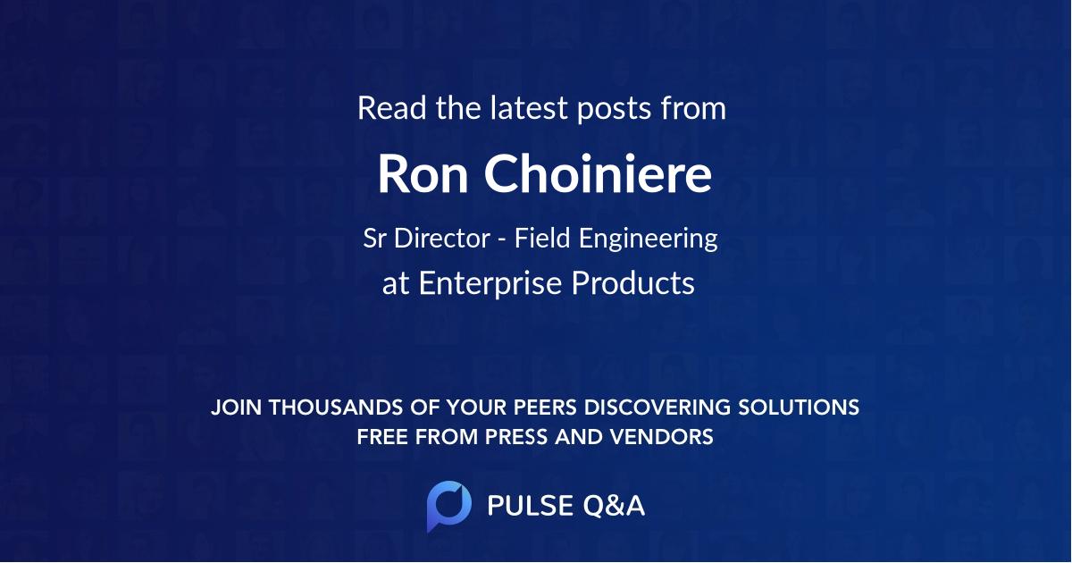Ron Choiniere