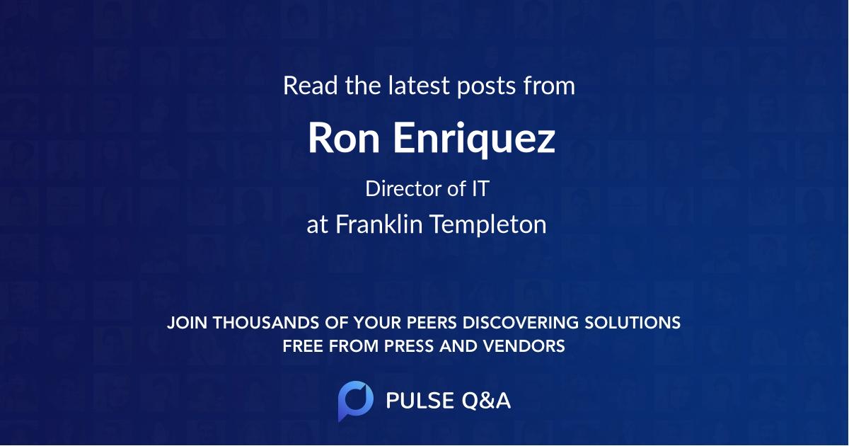 Ron Enriquez