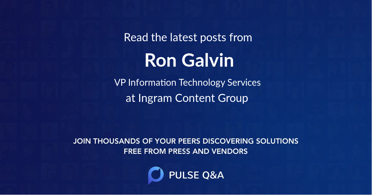 Ron Galvin