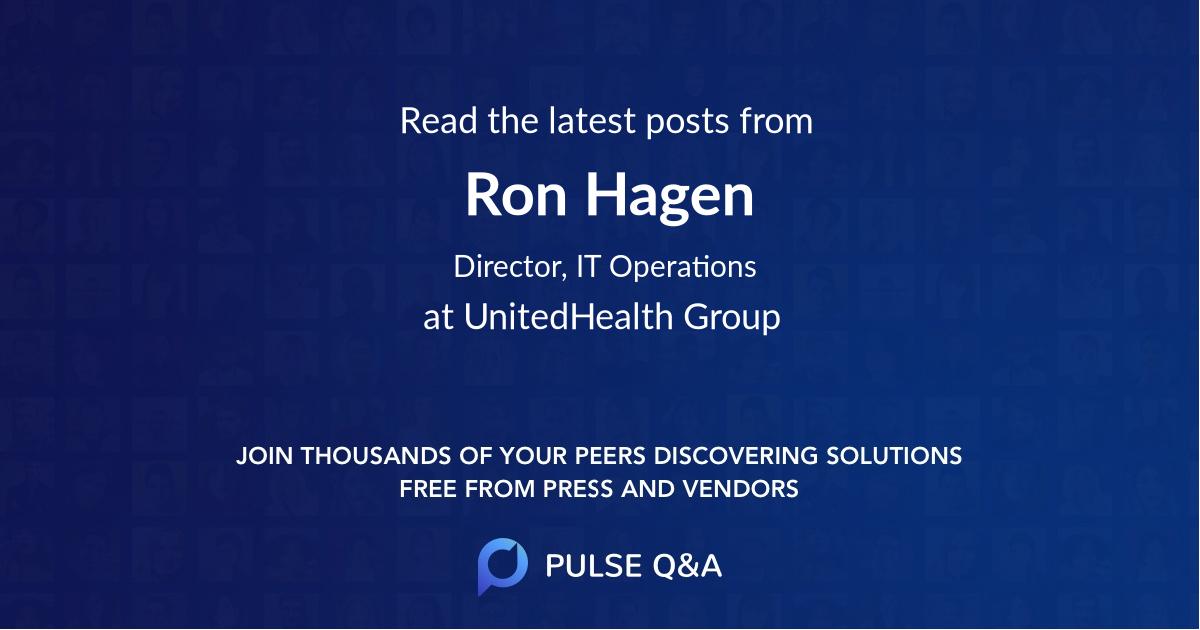 Ron Hagen