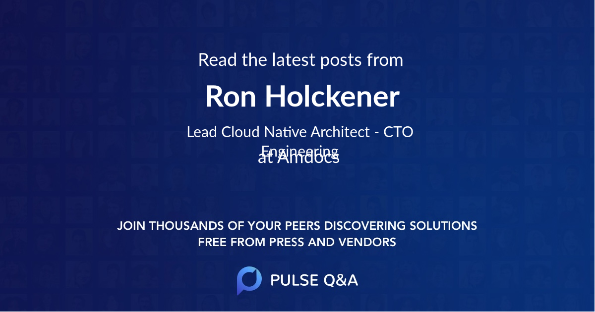 Ron Holckener
