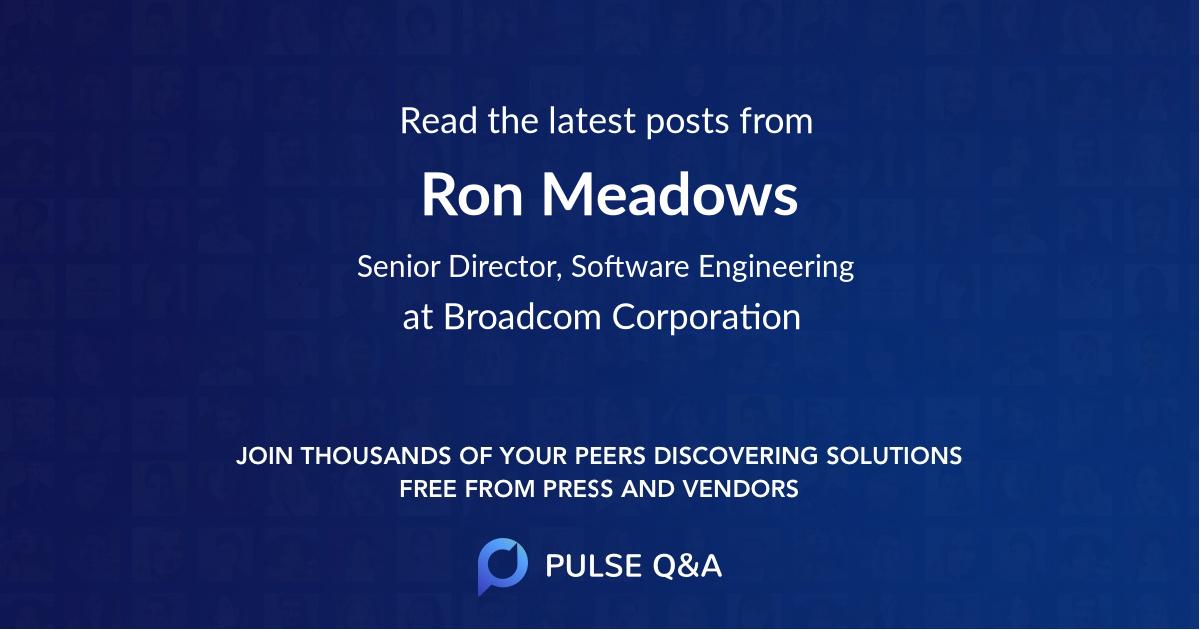 Ron Meadows