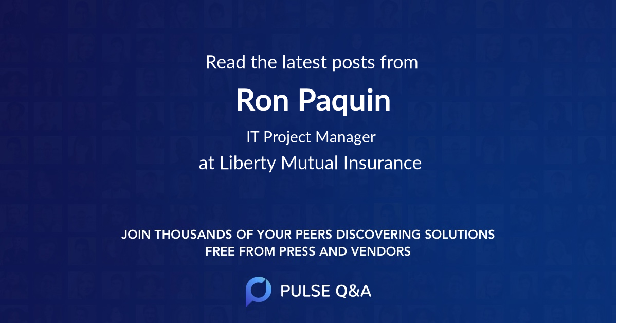 Ron Paquin