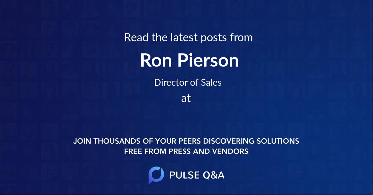 Ron Pierson