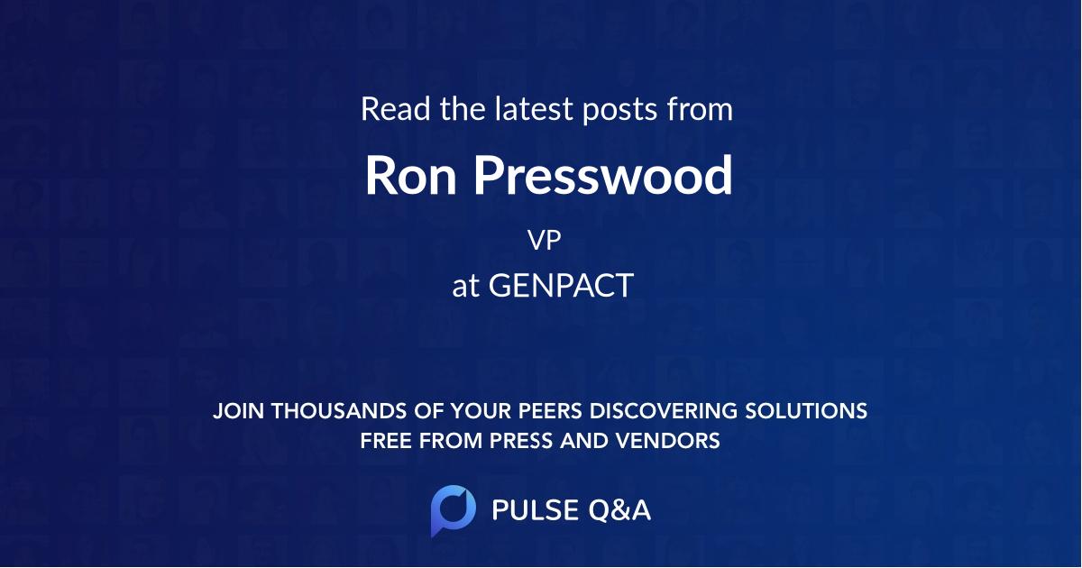 Ron Presswood