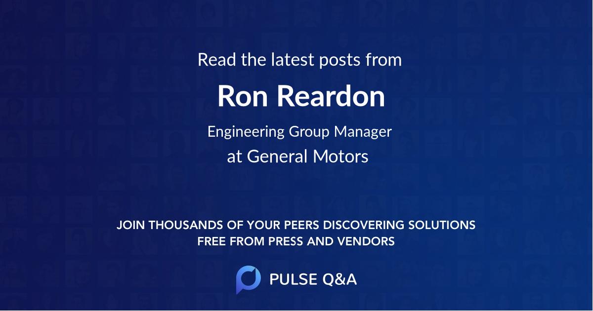 Ron Reardon