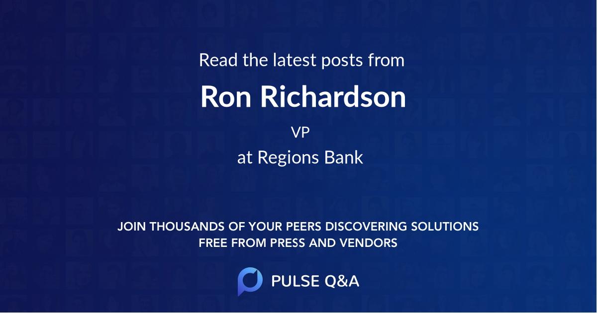 Ron Richardson