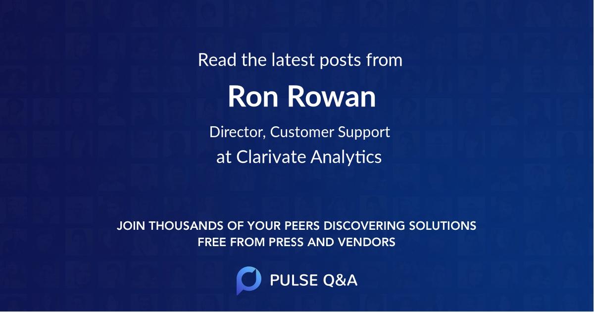 Ron Rowan