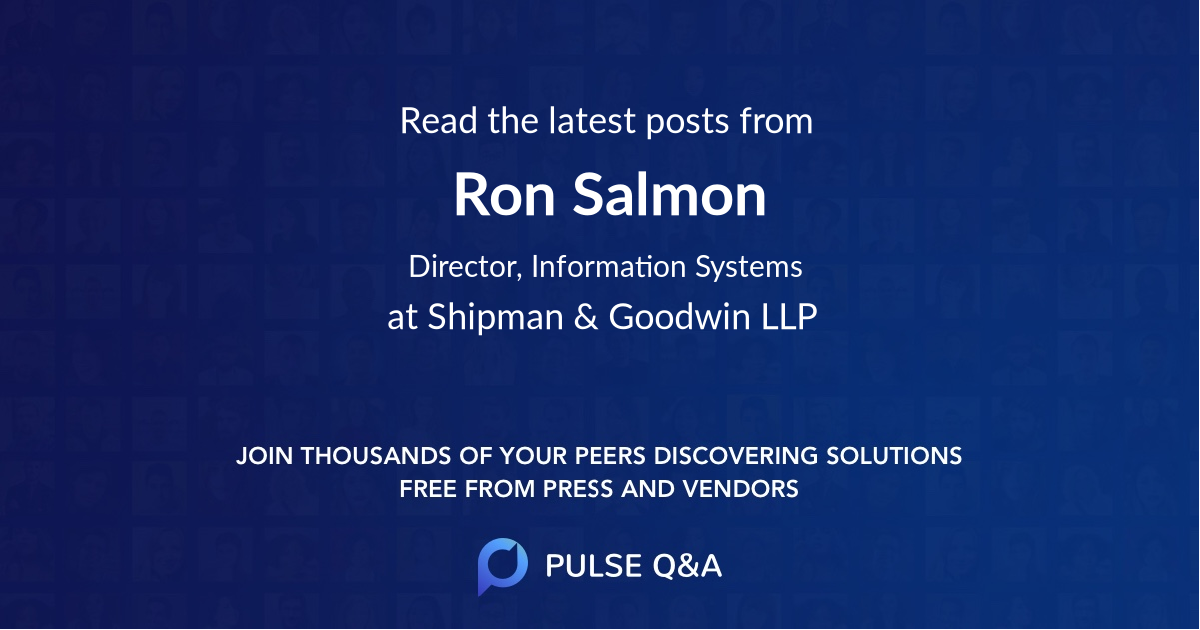 Ron Salmon