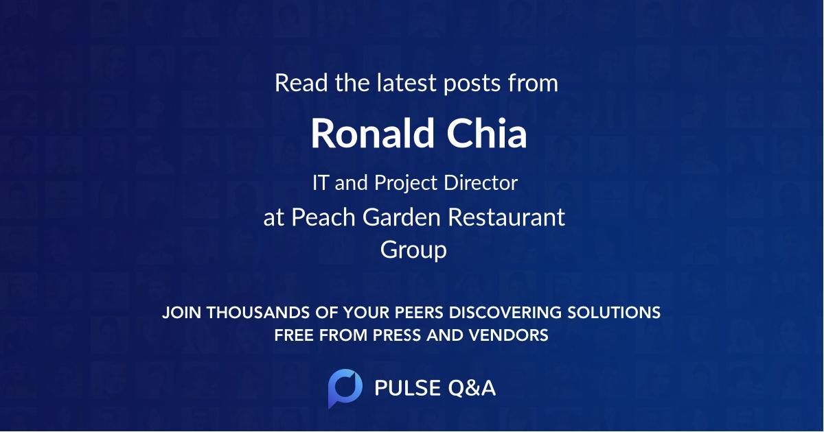 Ronald Chia