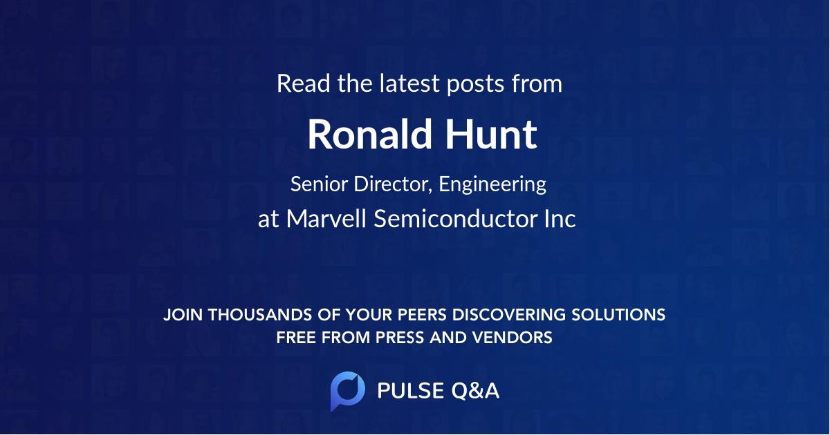 Ronald Hunt