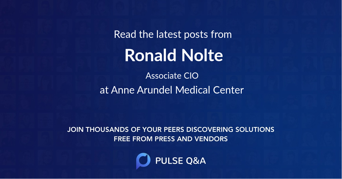 Ronald Nolte