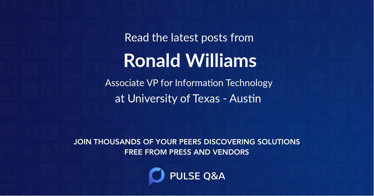 Ronald Williams