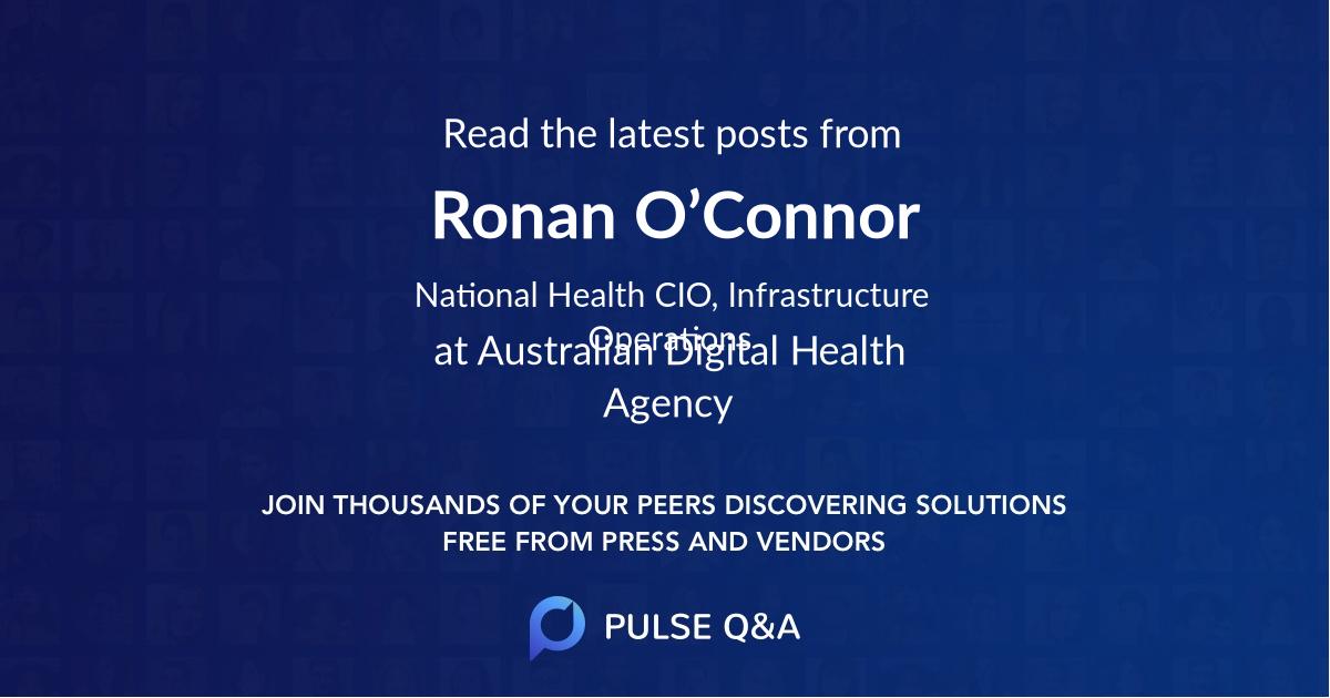 Ronan O'Connor