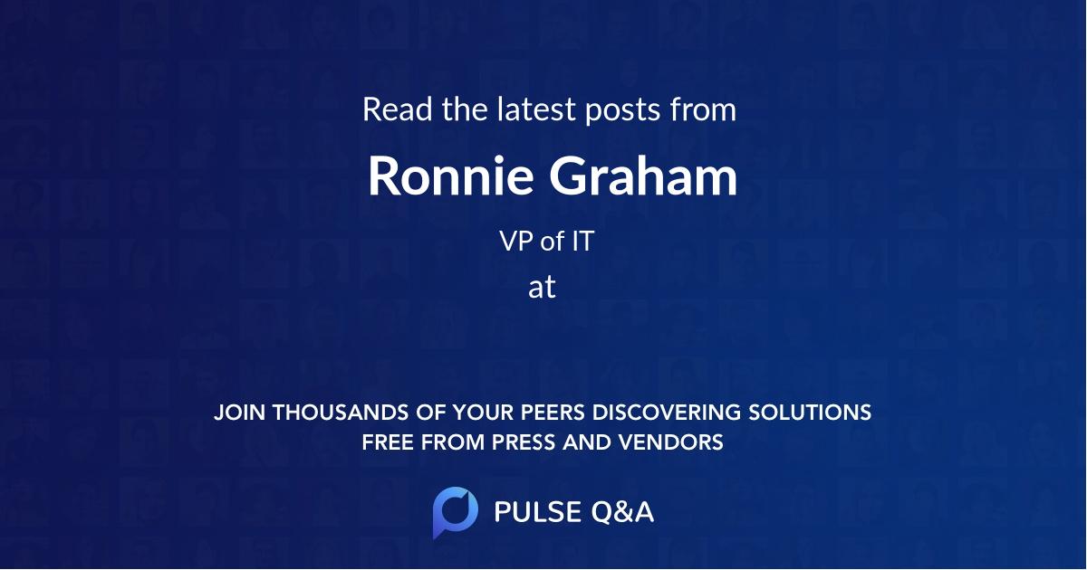 Ronnie Graham