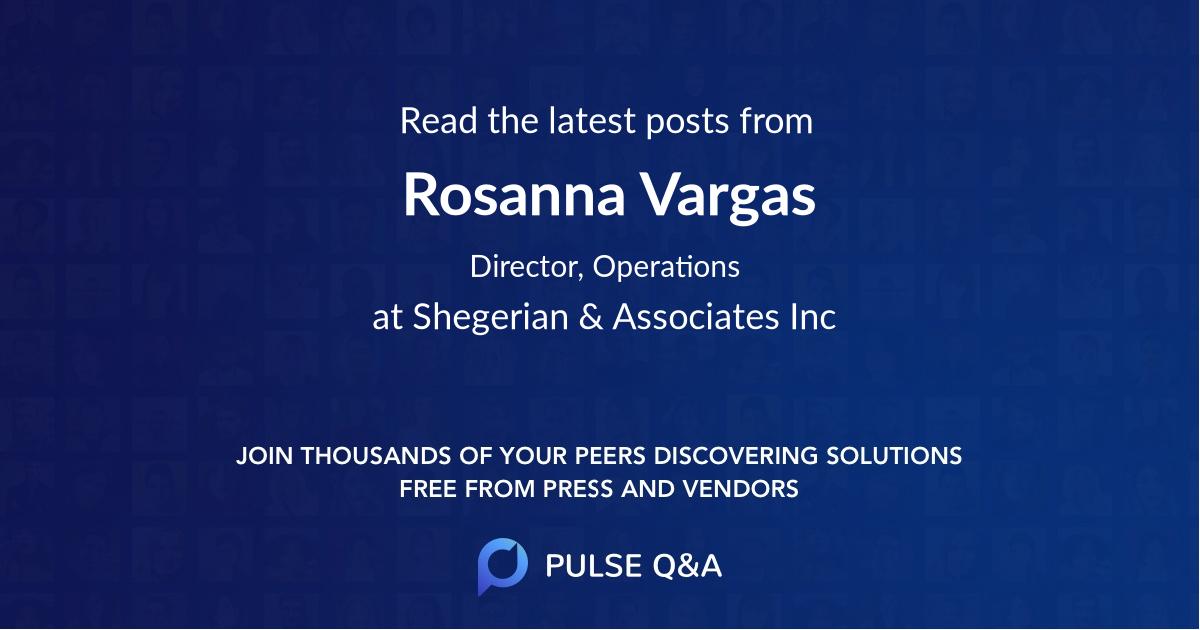 Rosanna Vargas