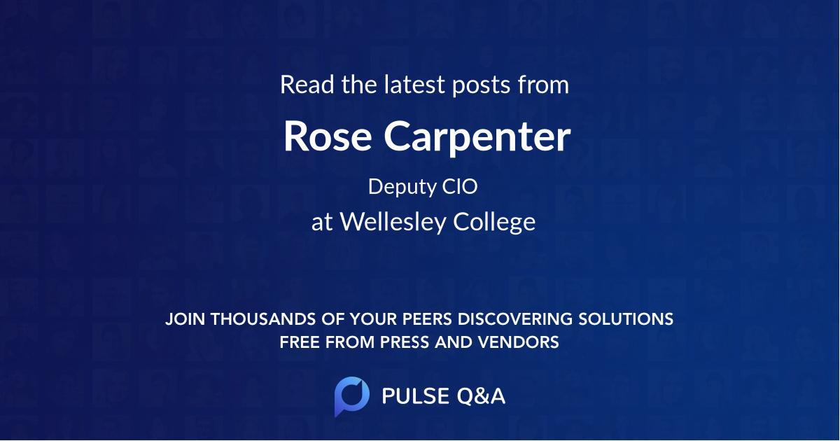 Rose Carpenter