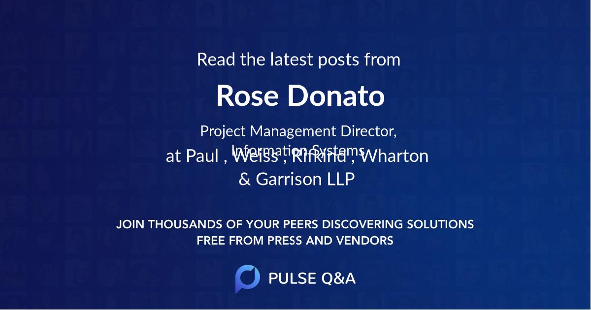 Rose Donato