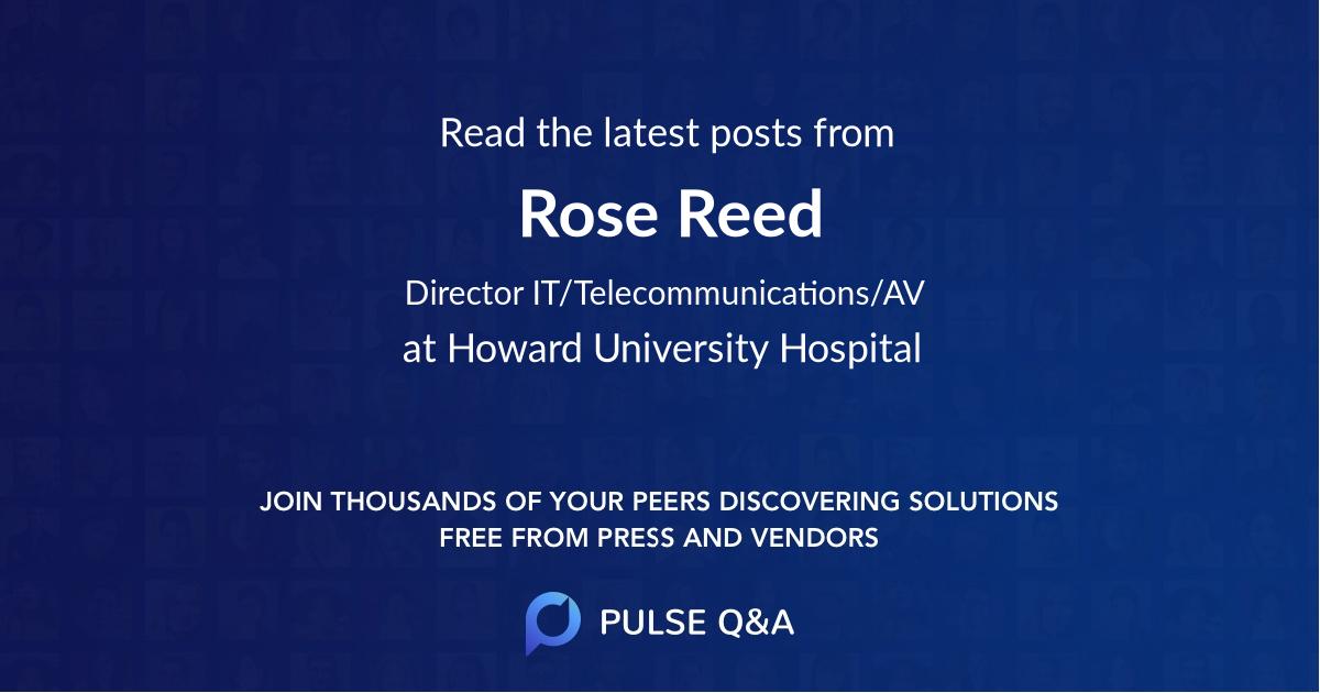 Rose Reed