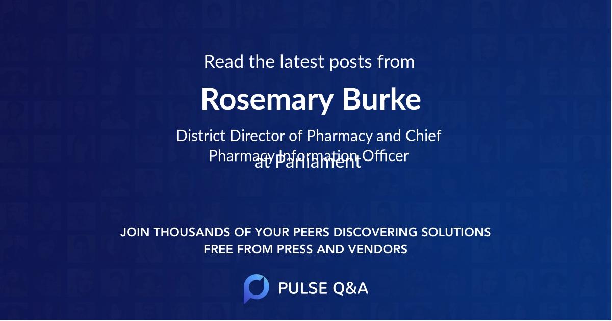 Rosemary Burke