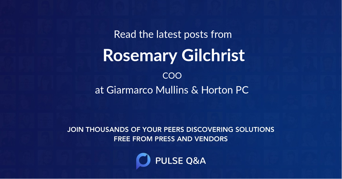 Rosemary Gilchrist