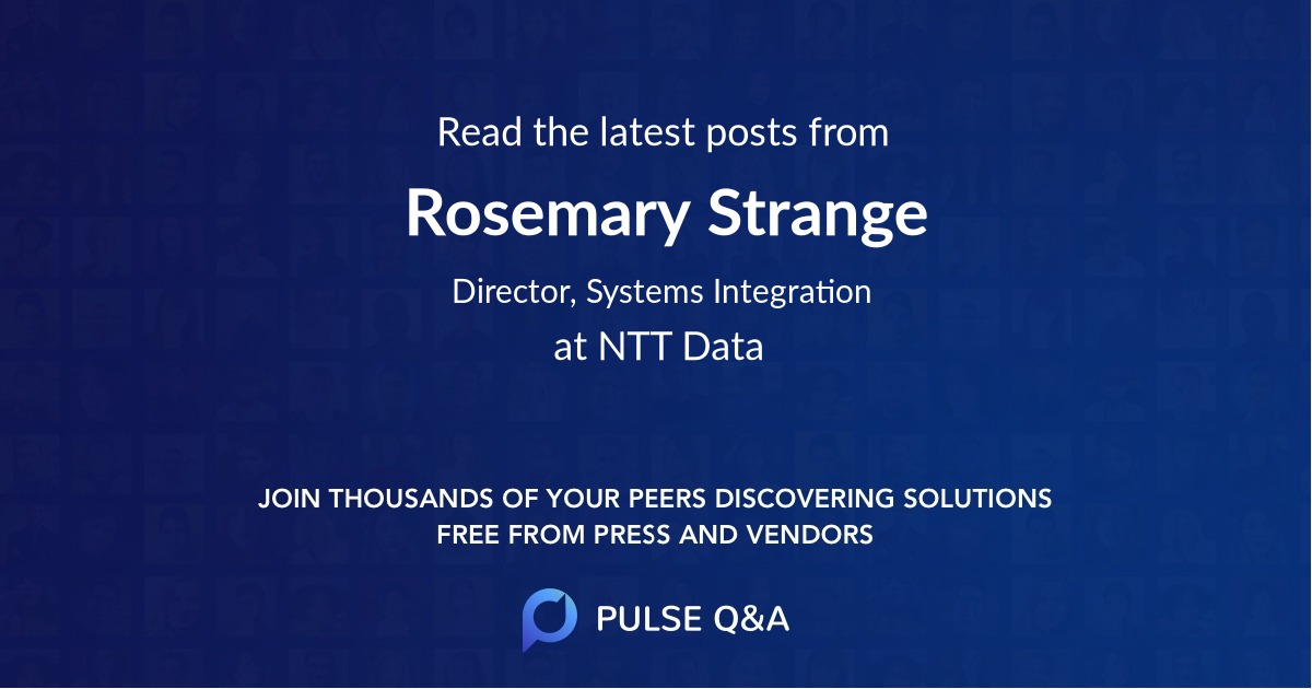 Rosemary Strange