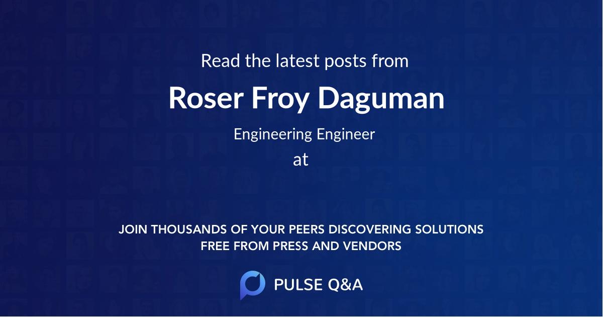 Roser Froy Daguman