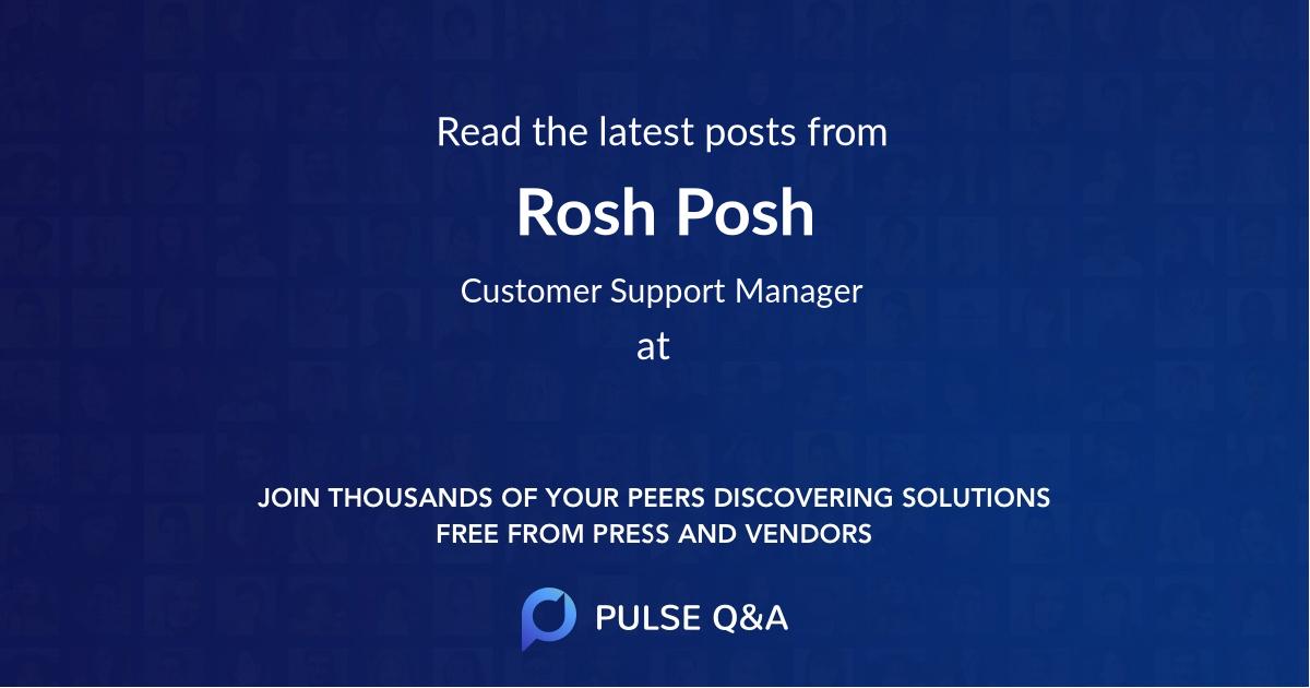 Rosh Posh