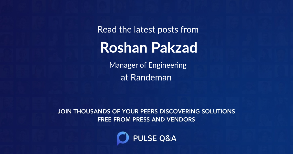 Roshan Pakzad