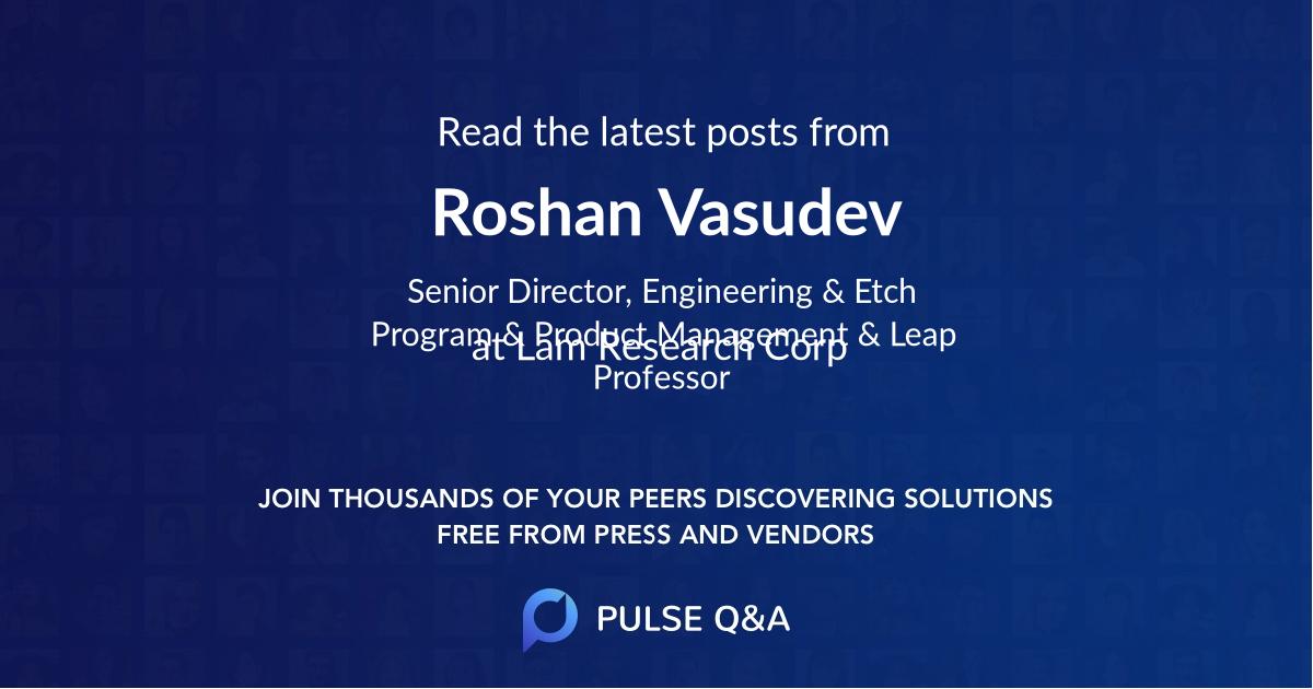 Roshan Vasudev