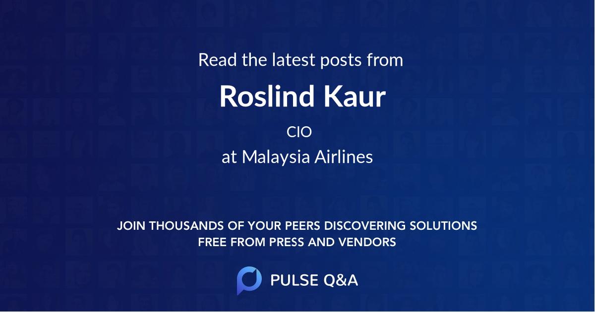 Roslind Kaur