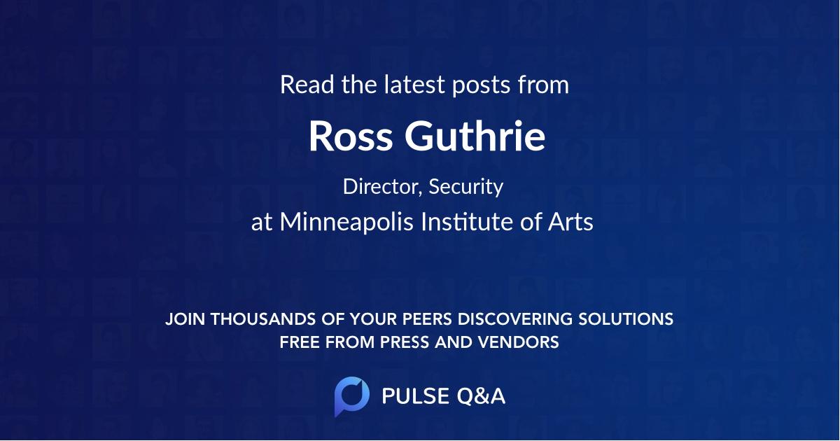 Ross Guthrie