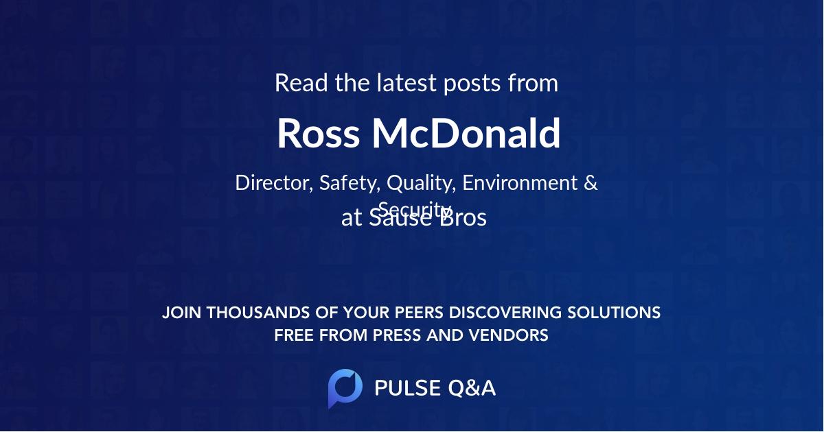 Ross McDonald