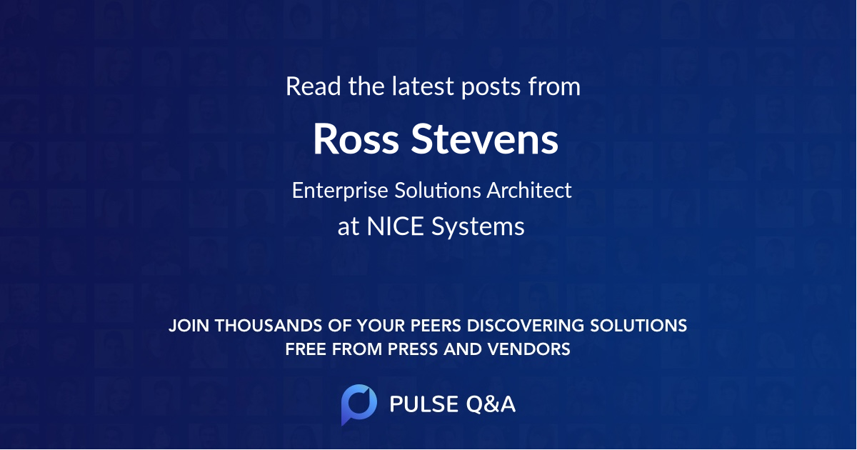 Ross Stevens