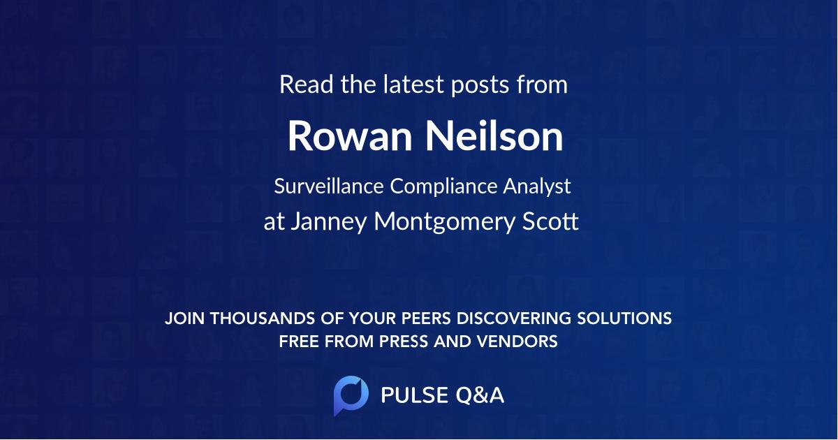 Rowan Neilson
