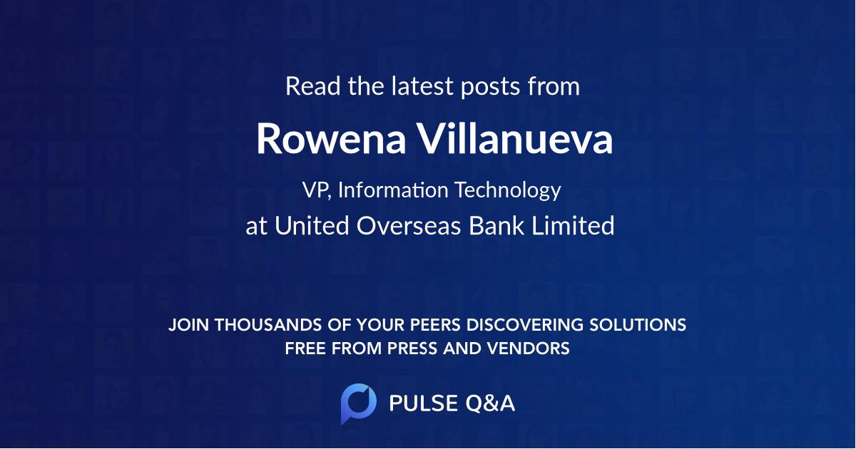 Rowena Villanueva