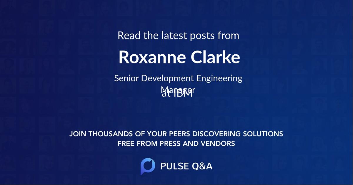 Roxanne Clarke