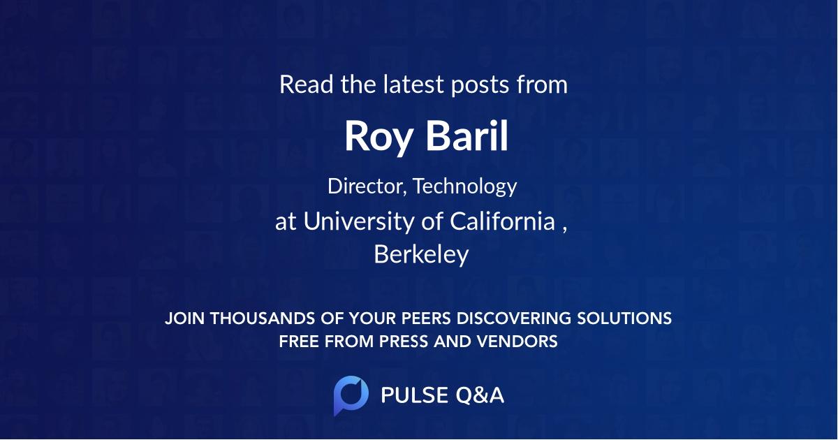 Roy Baril