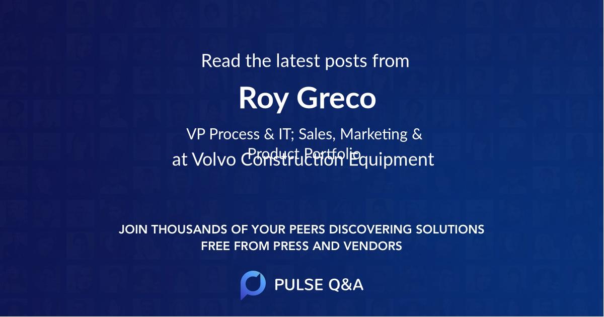 Roy Greco