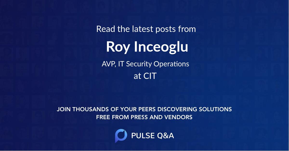 Roy Inceoglu