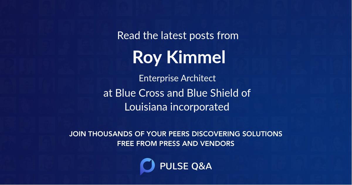 Roy Kimmel