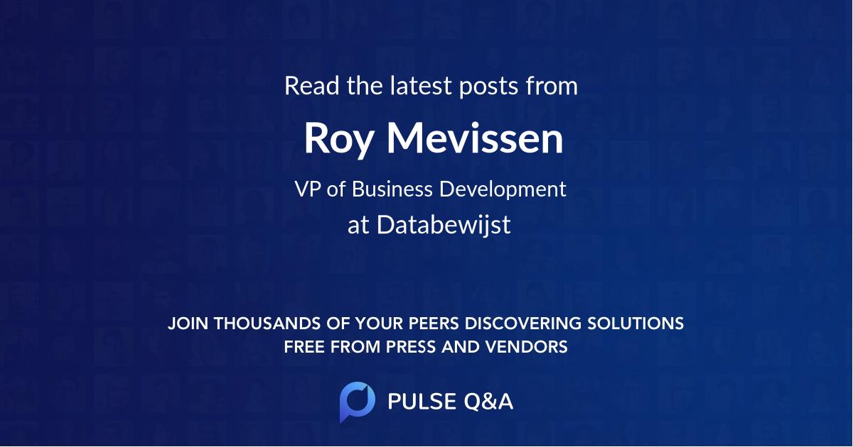 Roy Mevissen