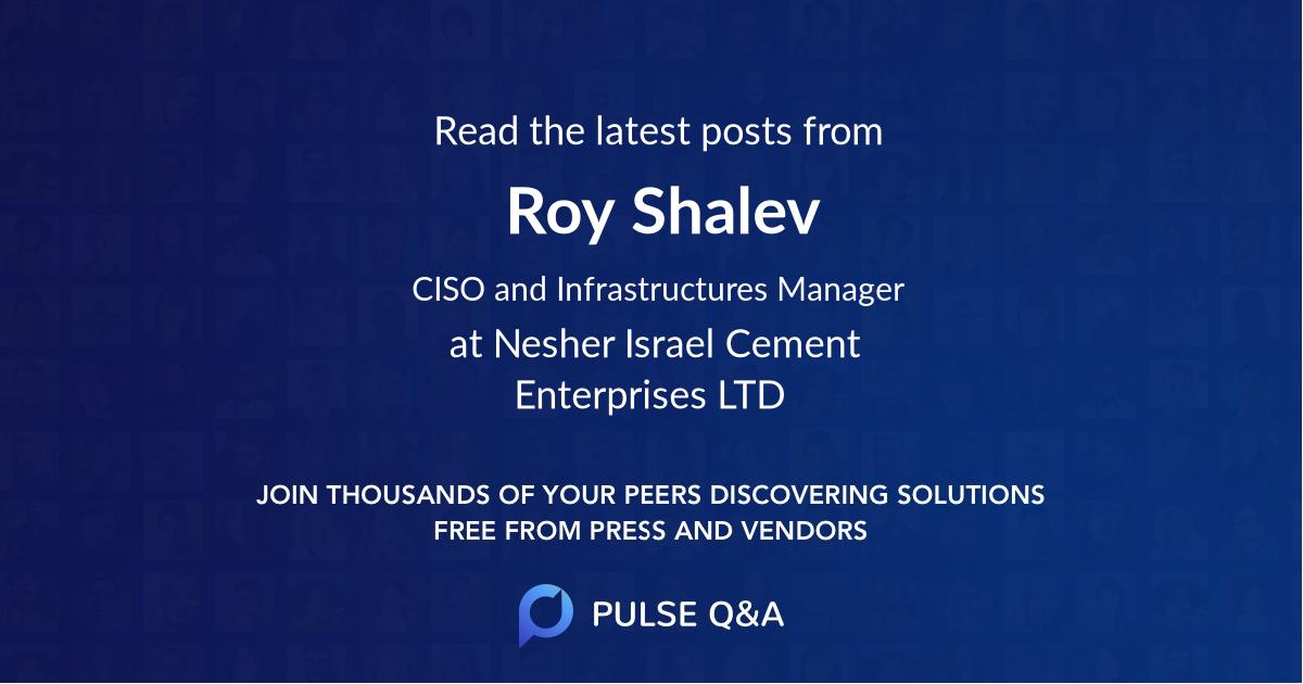 Roy Shalev